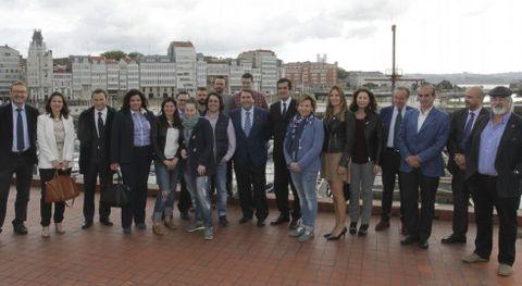 Rui Moreira y Negreira se reunieron con el sector turístico coruñés.