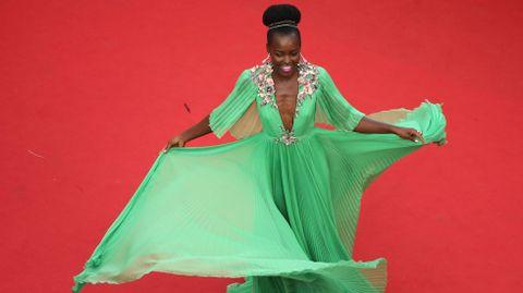 La actriz keniana Lupita Nyong'o