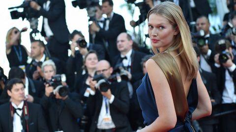 La modelo alemana Toni Garn