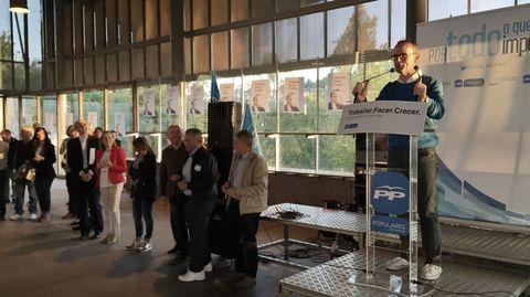 Fin de campaña del PP en Ourense