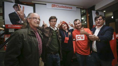 Cierre de campaña de Ciudadanos en A Coruña