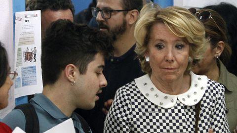 CIUDAD DE MADRID. Esperanza Aguirre no logra la mayoría absoluta en la villa.