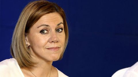 CASTILLA-LA MANCHA. La secretaria general de los populares, María Dolores de Cospedal, ha sido la más votada, pero lejos de la mayoría absoluta.