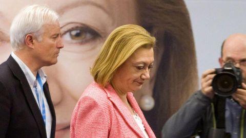 ARAGÓN. Luisa Fernanda Rudi, actual presidenta y candidata por el PP, ha perdido uno de cada tres apoyos y tendrá muy complicado sumar suficientes apoyos para gobernar.
