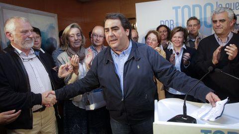 Carlos Negreira, tras asumir que pierde la mayoría absoluta en A Coruña