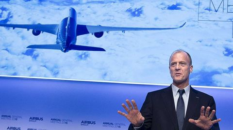 El presidente de Airbus, Tom Enders