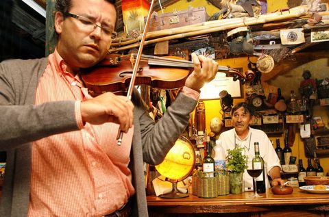 Antonio Seijo, excelente violinista, formó parte de Milladoiro.