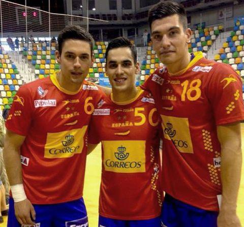 Pablo Cacheda y Pedro Rodríguez compartieron su debut con su compañero Ángel Fernández.