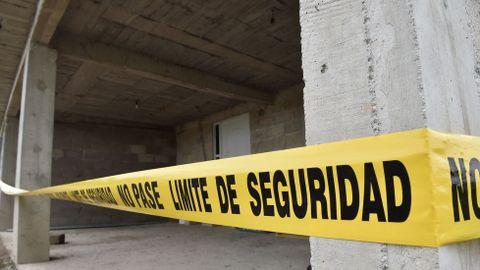 El lugar en el que terminaba el túnel del Chapo.