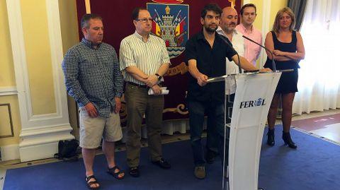 Los regidores de Ferrol, Narón, Fene, Ares y Mugardos se han reunido para abordar la crisis