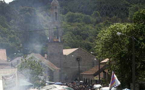 Santuario de Nosa Señora da Franqueira.