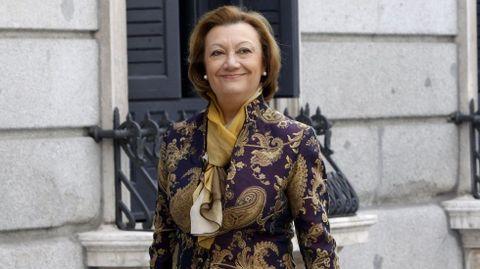 Luisa Fernanda Rudi. La expresidenta de Aragón percibirá un sueldo mínimo de 61.262 euros en el Senado