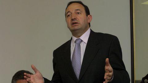 Pedro Sanz. El expresidente de La Rioja cobrará un mínimo de 61.262 euros en el Senado
