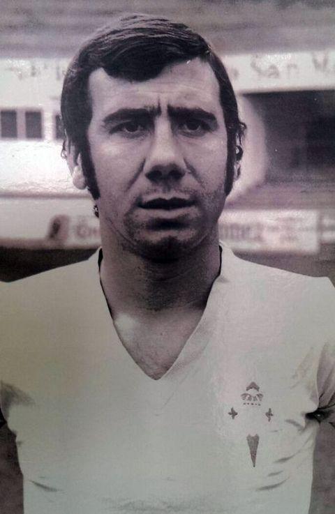 Pedrito, que era defensa, marcó un único gol como celeste y lo encajó uno de sus exequipos, el Cádiz.