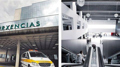 El coste del clínico de Santiago se duplicó según lo previsto. El hospital Lucus Augusti costó 182 millones de euros