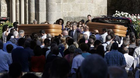 Funeral de Miguel Caridad Pereiro y Ana Cayazzo Rey.