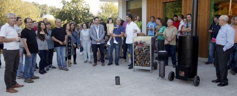 La jornada contó con un curso sobre construcción de una estufa de mampostería en el que participaron una treintena de personas.