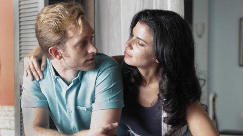 Pablo Rivero y Pilar Punzano, en un momento de «Cuéntame».