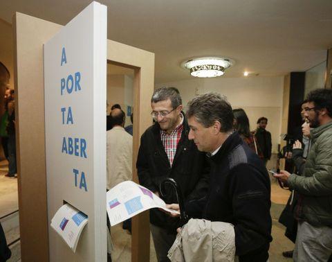 El público accedía al Rosalía por «otra» puerta.