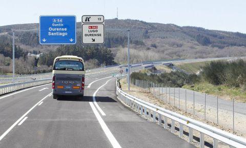 El problema se detecta desde Compostela, pero lo mismo ocurre en los nuevos tramos de Lugo.