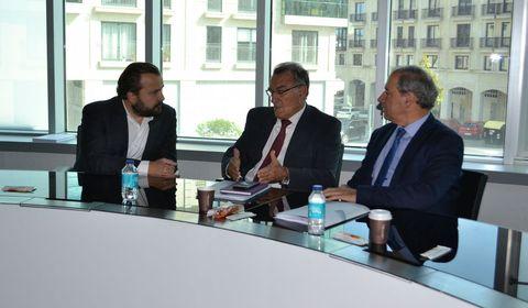 Los alcaldes, reunidos en Lalín tras la ejecutiva del Eixo Atlántico