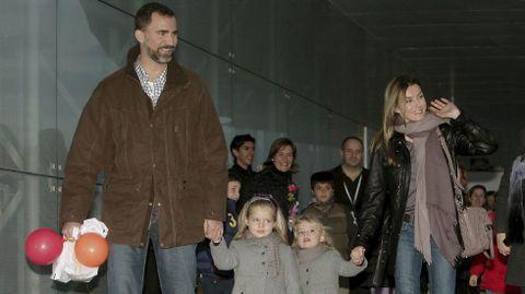 En noviembre de 2009 cuando asistió junto a sus padres a un espectáculo de Mickey.