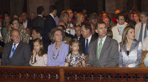 En Mallorca en abril del 2014.