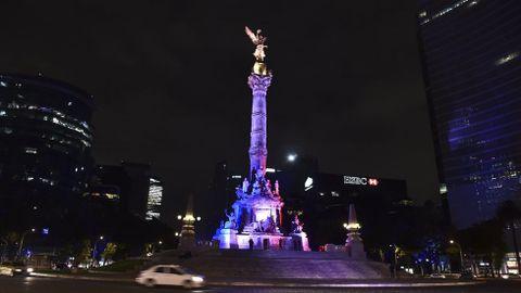 El monumento del Ángel en México.