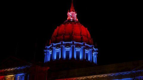 El edificio del ayuntamiento de San Francisco.