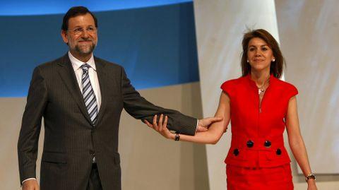 Imagen del congreso del PP en el 2008 que se celebró en Valencia.