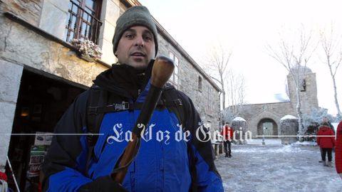 Francisco Rivera Ordóñez en O Cebreiro
