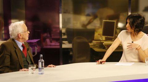 Durante una entrevista en el programa Vía V de Fernanda Tabares, en el año 2012