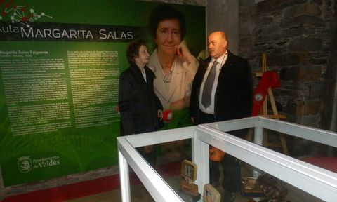 La prestigiosa científica Margarita Salas tiene desde ayer museo propio en su Luarca natal.