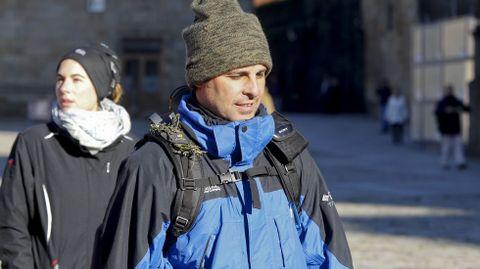Fran Rivera empezó el Camino de Santiago con polémica por un incidente con un fotógrafo en O Cebreiro.