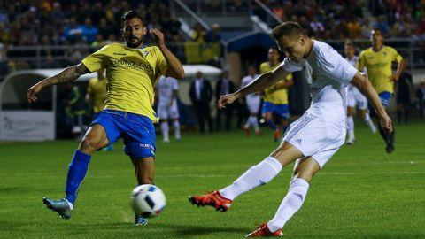 Cherysev marca en el Cádiz-Real Madrid