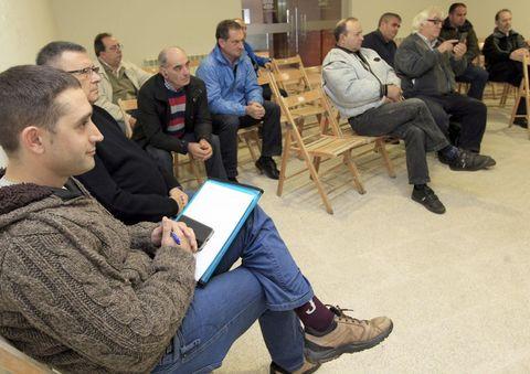 La reunión de ayer en el consistorio de Viveiro.