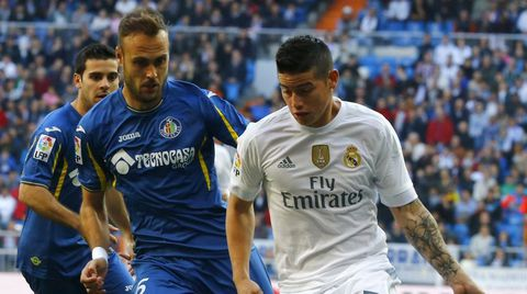 Cala, en un partido contra el Real Madrid