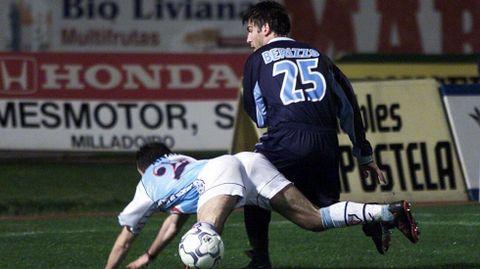 Berizzo disputó el partido completo en la primera vez que defendía la elástica celeste