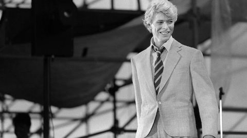 Imagen de un concierto de David Bowie en 1983.