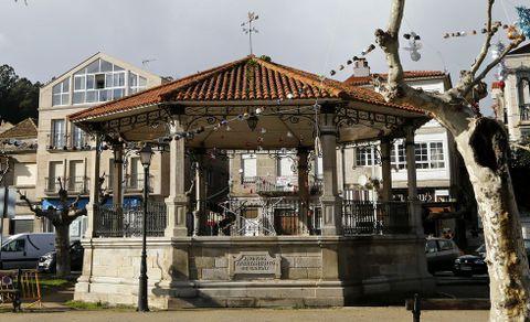 Palco de la Alameda Vella, en Cangas do Morrazo.