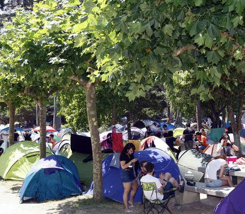 También buscan espacio para otras 6.000 plazas de acampada.