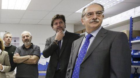 Antonio Couceiro. Exconselleiro de Industria y exdirector de Begano. Actualmente es consejero en Inveravante.