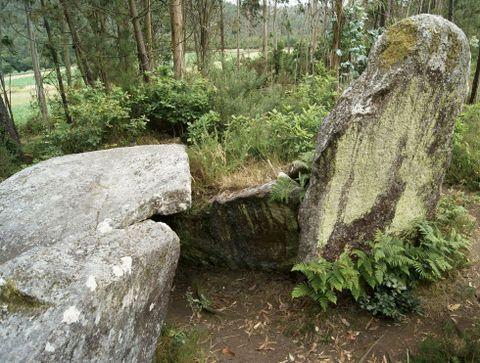 La Xunta preveía comprar los dólmenes de la zona
