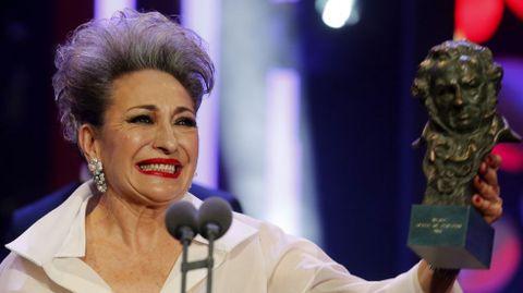 Luisa Gavasa, Goya a la Mejor Actriz de Reparto por su papel en «La Novia»