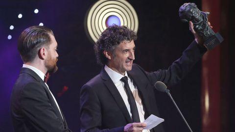Axel O'Mill Tubau y Patxi Uriz reciben el Goya al mejor cortometraje documental por «Hijos de la Tierra»