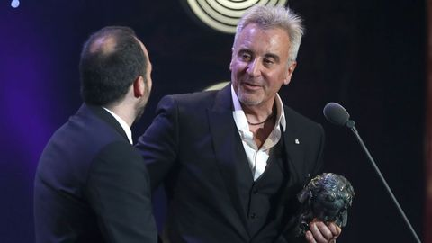 El productor Jesús Navarro recibe el Goya a la mejor película documental por «Sueños de Sal»