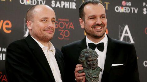 El animador Daniel Martínez Lara, Goya al Mejor cortometraje de animación, por su trabajo «Alike»