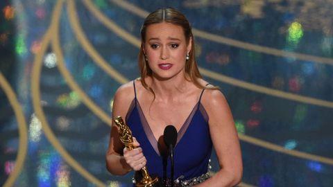 Brie Larson, mejor actriz por «La Habitación»