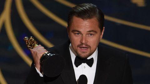 Leonardo DiCaprio, por «El renacido»