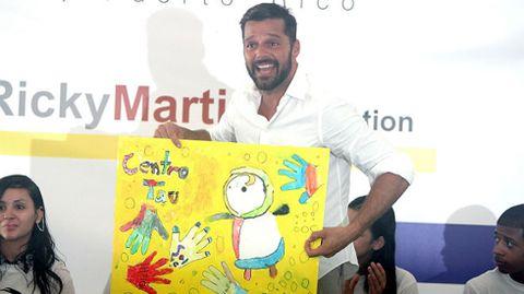Ricky Martin reclama una mayor protección de la infancia.